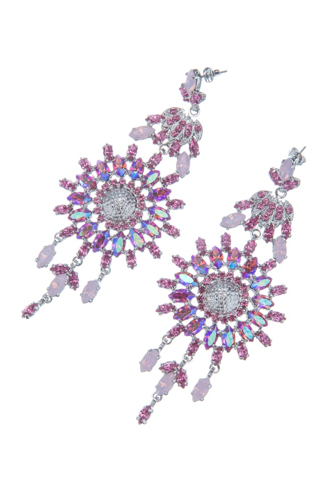Exklusivní sada náhrdelník a náušnice Rose 7D