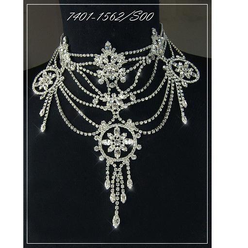 Exklusivní sada Rojana náhrdelník a naušnice 7D
