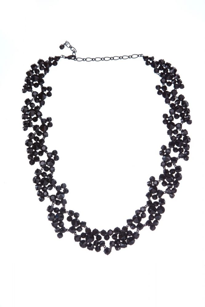 Exklusivní sada náhrdelník a náušnice Black 7D