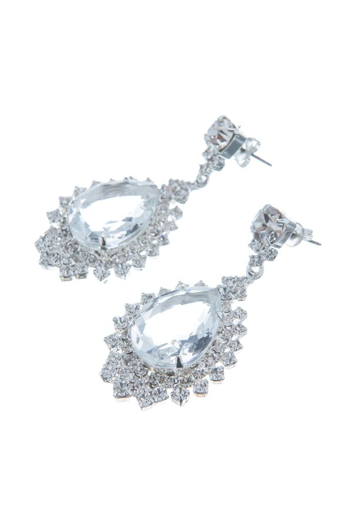 Exklusivní náhrdelník Slza a naušnice 14D