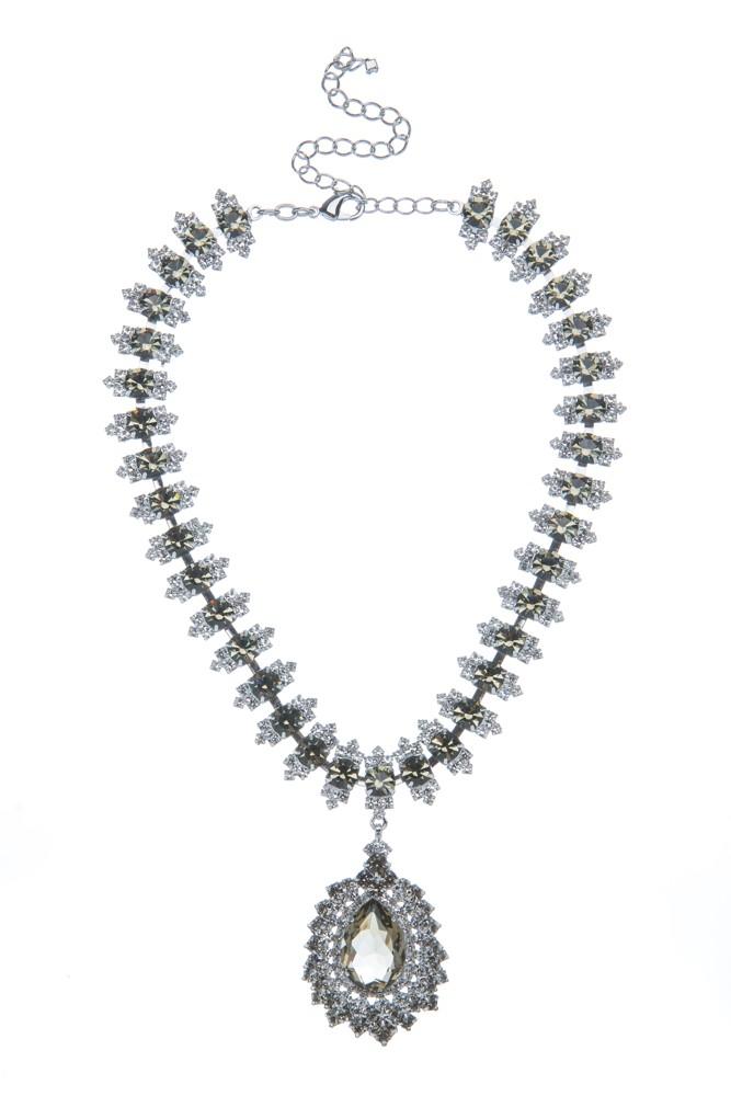Exklusivní náhrdelník Slza a naušnice 7D